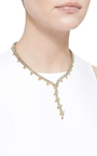 One Of A Kind Green Sapphire Ombre Necklace by PAOLO COSTAGLI for Preorder on Moda Operandi