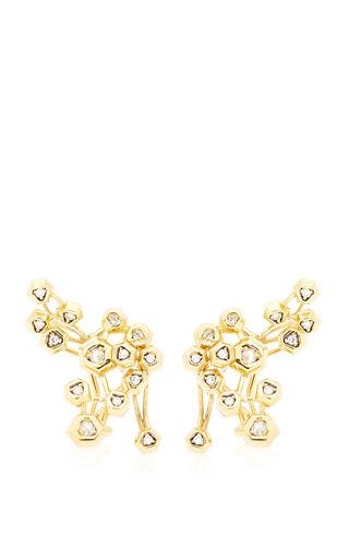 Medium maiyet multi constellation cluster earring
