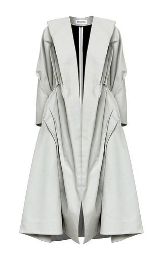 Medium maticevski blue assembly overcoat