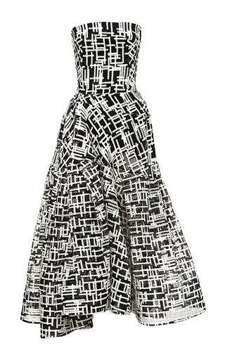 Medium maticevski print siege dress