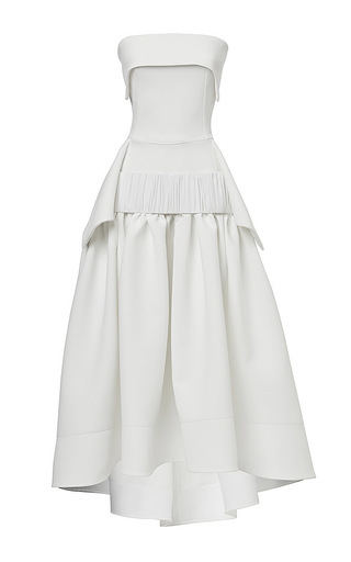 Medium maticevski white endearment dress