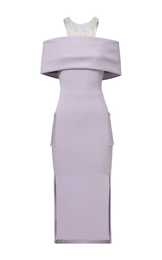 Medium maticevski purple consequence dress