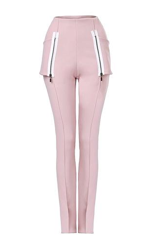 Medium maticevski pink desired banded pant