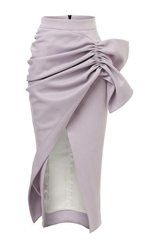 Medium maticevski purple serene pencil skirt