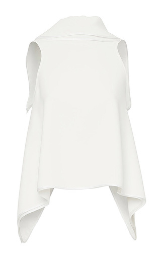 Medium maticevski white sovereign backless top