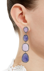 One Of A Kind Grand Luxe Earrings by LAUREN CRAFT COLLECTION Now Available on Moda Operandi