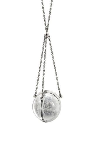 Medium noor fares white tridevi pendant