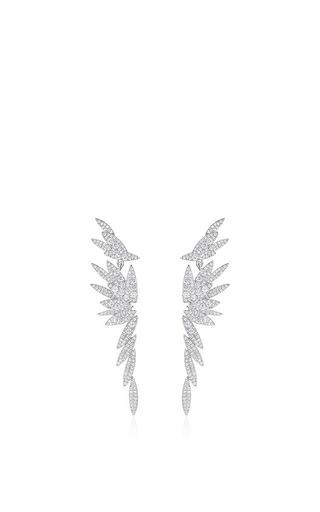 Bamboo Long Stud Earrings by AS29 for Preorder on Moda Operandi