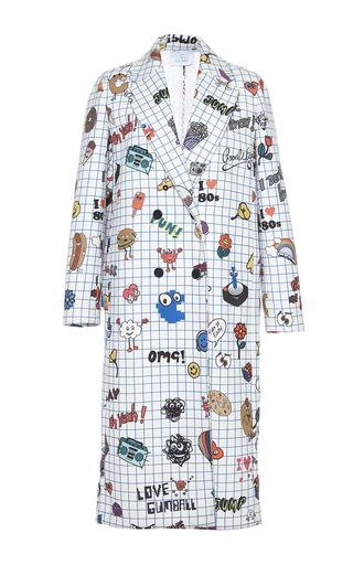 Medium mira mikati print notepad printed coat
