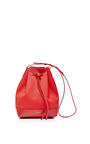 Canvas Bucket Bag In Flamma With Ballerina Interior by MANSUR GAVRIEL Now Available on Moda Operandi