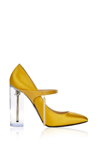 Medium richard braqo yellow grace saffron pump