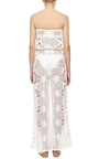 Piper Embroidered Strapless Jumpsuit by MIGUELINA Now Available on Moda Operandi