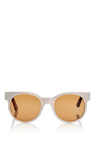 Medium zanzan white avida dollars oversized sunglasses