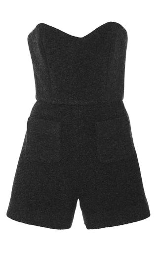 Medium kalmanovich black wool romper