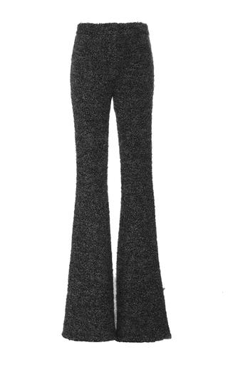 Medium kalmanovich dark grey cotton mohair knit pants