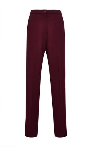 Medium perret schaad burgundy samu wool georgette trousers