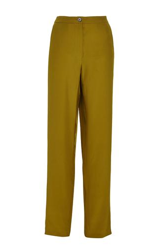 Medium perret schaad gold samu silk satin trousers