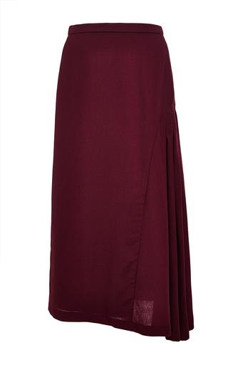 Medium perret schaad burgundy young skirt 2