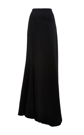 Medium perret schaad black bene virgin wool skirt