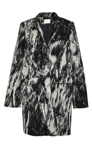 Medium perret schaad print jip coat