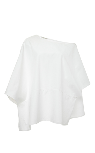Medium perret schaad white jason cotton blouse