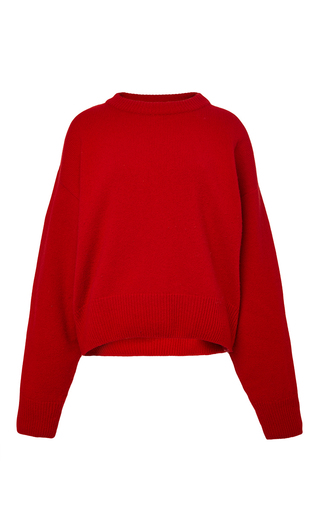 Medium perret schaad red joff pullover