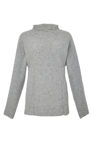 Medium perret schaad dark grey henri pullover