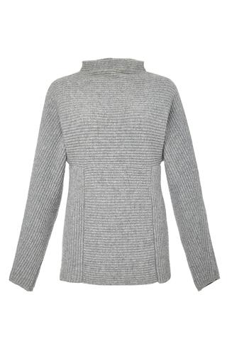 Medium perret schaad dark grey henri pullover