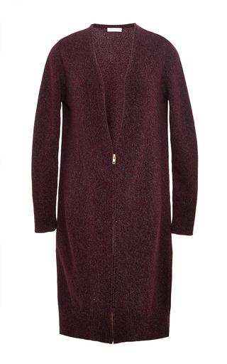 Medium perret schaad burgundy august coat