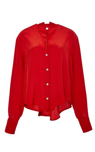 Medium perret schaad red jose blouse