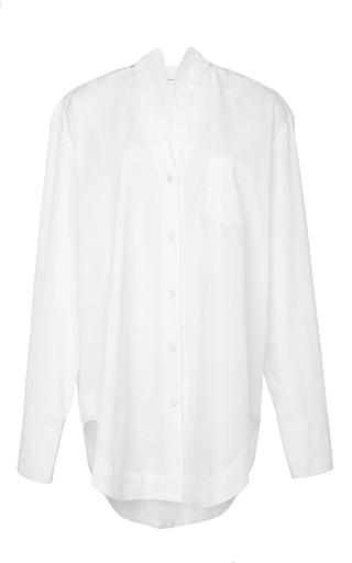 Medium perret schaad white franz blouse