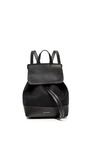 Canvas Mini Backpack In Black With Red Interior by MANSUR GAVRIEL Now Available on Moda Operandi