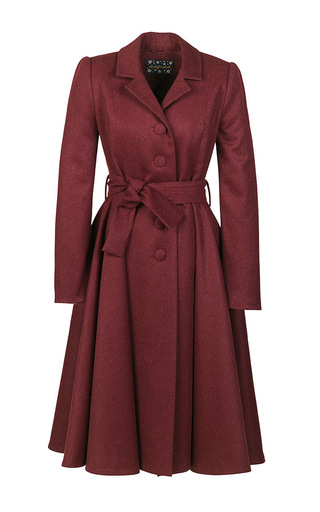 Medium lena hoschek red muse coat