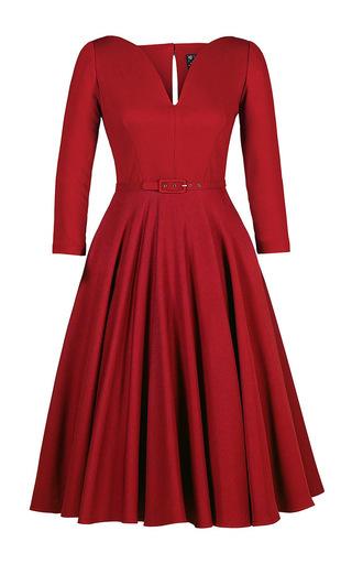Medium lena hoschek red sophisticated dress