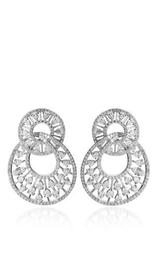 Diamond Encrust Earring By Farah Khan Fine Jewelry Moda