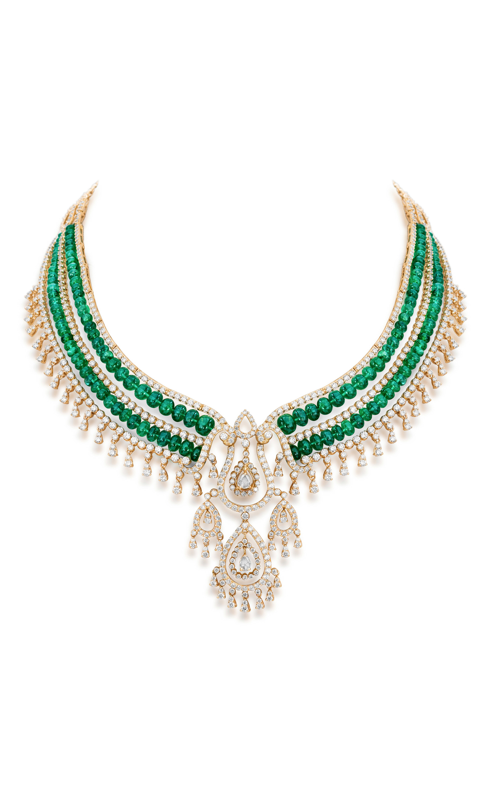 Royal raga necklace by farah khan fine jewelry moda operandi for What is fine jewelry