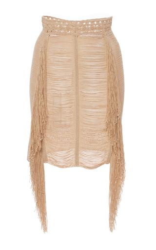 Medium magda butrym brown madagascar skirt