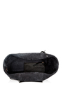 Large Tumble Leather Tote In Black by MANSUR GAVRIEL Now Available on Moda Operandi
