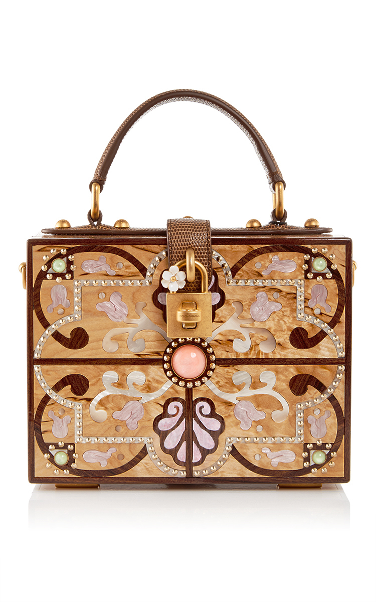 1de3688912 Plexi Intricate Cut Out Box Bag by Dolce   Gabbana