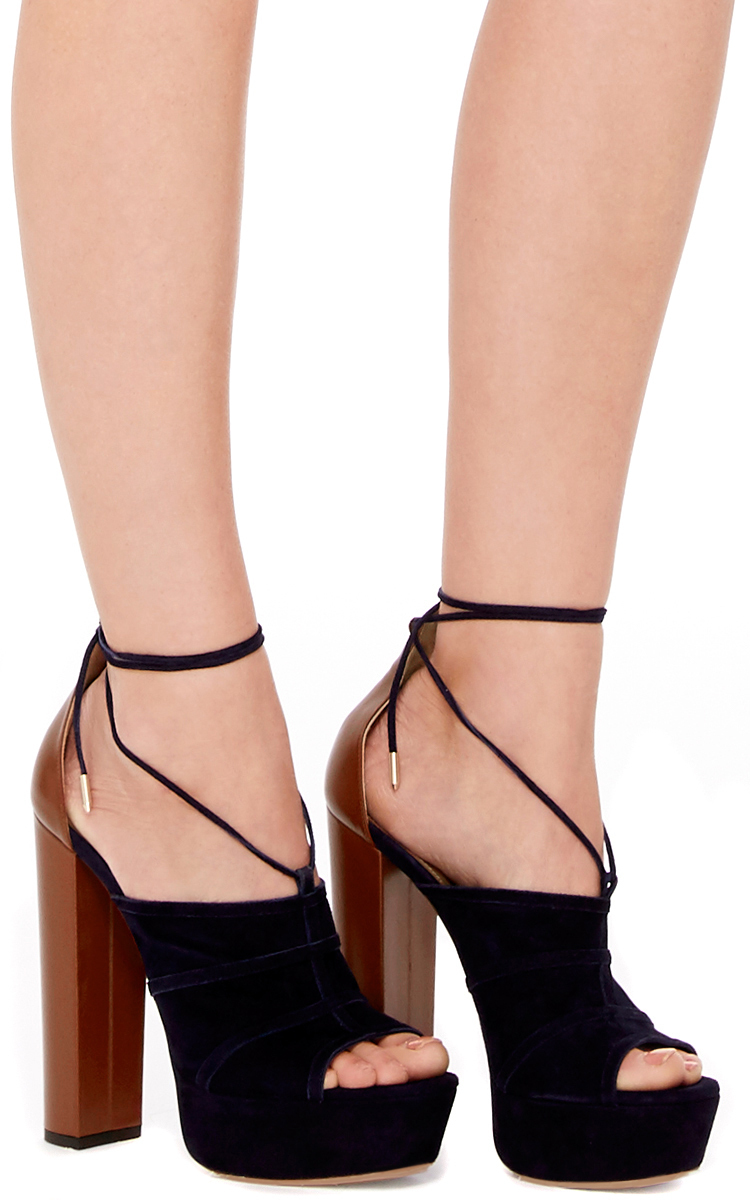 outlet geniue stockist affordable cheap price Aquazzura Very Eugenie Platform Sandals sale good selling clearance 2015 qEC2sWS7