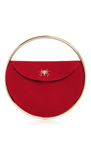 Medium charlotte olympia red red suede this is not a bag handbag