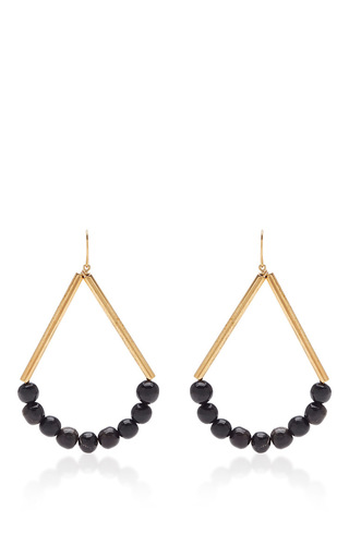 Dangling Horn And Metal Earrings by MARNI Now Available on Moda Operandi