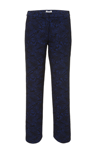 Blue Currant Chard Circle Straight Leg Pants by OPENING CEREMONY Now Available on Moda Operandi