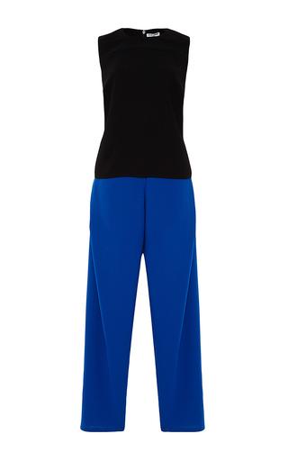 Celia Folded Sleeveless Jumpsuit by OPENING CEREMONY Now Available on Moda Operandi