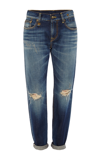 Relaxed Skinny Jeans by R13 Now Available on Moda Operandi