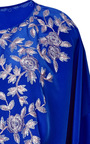 Oscar De La Renta Pacific Embroidered Caftan With Belt by OSCAR DE LA RENTA Now Available on Moda Operandi