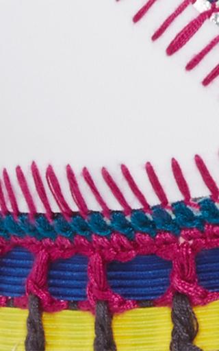 Yaz Woven Bikini Top by KIINI Now Available on Moda Operandi