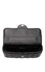 Black Quilted Lambskin Leather Envelope Purse by ROCHAS Now Available on Moda Operandi