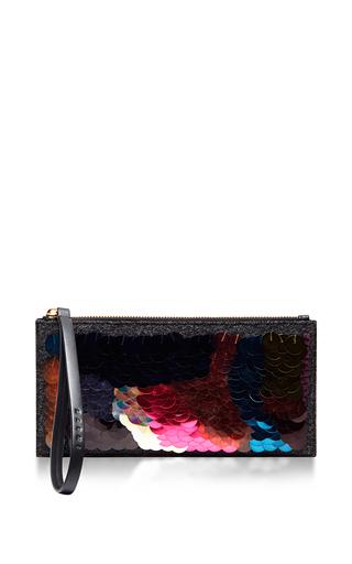 Small Zip Sequin Pochette by MARNI Now Available on Moda Operandi