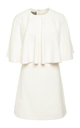 Medium giambattista valli ivory ivory short sleeve structured dress